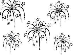 Firework Coloring Pages Firework Coloring Pages Free Printable Fun