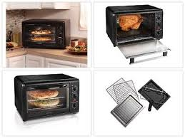 brand new countertop convection toaster oven rotisserie best rated prime black