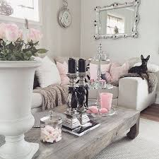 Image Grey Wall Blush And Grey Living Room Shabby Chic Grey Living Room Pink And Grey Room Pinterest Pin By Angelia Grams On Shabby Chic Pinterest Chic Living Room