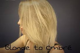 Go From Blonde To Ombre At