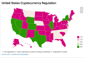 The legal status of bitcoin (and related crypto instruments) varies substantially from state to state and is still undefined or changing in many of them. More Us States May Roll Out Cryptocurrency Regulations