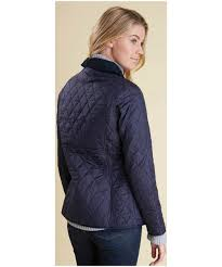 Women's Barbour Annandale Quilted Jacket & Women's Barbour Annandale Quilted Jacket - Navy Adamdwight.com