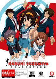 The Melancholy Of Haruhi Suzumiya Collection s1, S2, Movie: Amazon.de: DVD  & Blu-ray