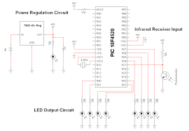 wifi receiver circuit diagram wifi image wiring schematic wireless infrared communication link system on wifi receiver circuit diagram