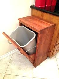 wooden trash can cabinet wood trash bin additional photos double wooden for kitchen garbage can cabinet wooden trash