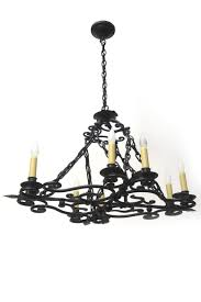 Wrought Iron Oblong Candle Chandelier Chandeliers Pinterest
