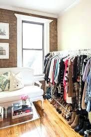makeshift closet ideas apartment walk in closet ideas small makeshift small apartment walk in closet
