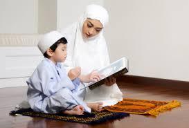 mengajarkan anak berdoa