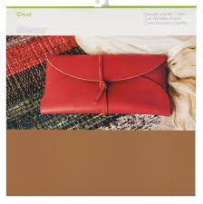 cricut maker carmel genuine leather materail