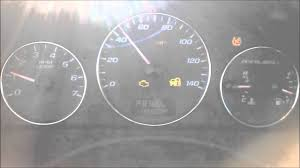 2007 Chevrolet Malibu Dashboard lights and gauges go berserk - YouTube
