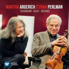 <b>Martha Argerich</b> - Perlman & Argerich play Schumann, Bach ...