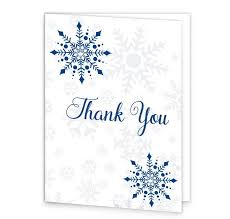 snowflake thank you cards snowflake wedding thank you cards loving invitations
