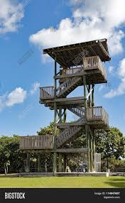 Lookout Tower Plans Hollywood Beach Lookout Tower Stock Photo Stock Images Bigstock