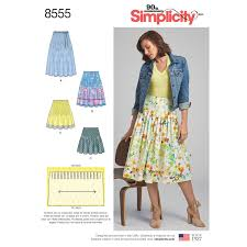 Simplicity Skirt Patterns Adorable Simplicity Pattern 48 Misses' Pleated Skirts