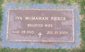 Iva Marie McMahan Pierce (1910-2006) - Find A Grave Memorial