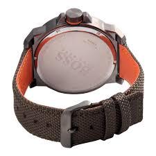 hugo boss men s orange watch 1513009