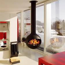 free standing gas fireplaces for