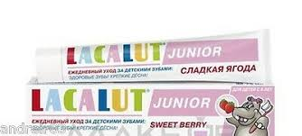 <b>LACALUT</b> Medical Toothpaste <b>Junior</b> for kids Sweet berry Germany ...