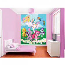Pony Bedroom Accessories My Little Pony Friendship Wallpaper By Walltastic Great