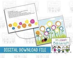 Reward Chart Kids Behavior Toddler Token Board Incentive Autism Digital Download Instant Printable Daily Responsibility Girl Potty Training