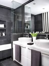 black white bathroom ideas
