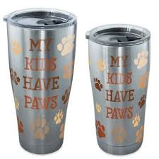Tervis® <b>My Kids Have Paws</b> Stainless Steel Tumbler with Lid | Bed ...
