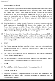 Template Lease Commercial Property Lease Template Legal Kits