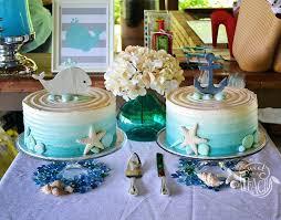 Baby Boy Shower Cakes Ideas Nautical Baby Shower Cake Ideas Cakes