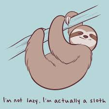 Lazy Sloth Drawing (Page 1) - Line.17QQ.com