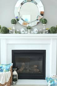painted fireplace mantels learn how to paint a wood mantel and tile white in just 3 painted fireplace