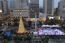 Sf Union Square Tree Lighting Celebrate Christmas At Union Square San Francisco Golden