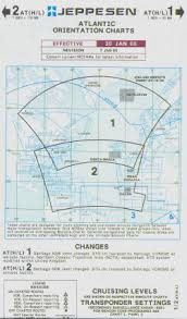 Buy Jeppesen Charts North Atlantic Enroute Chart At H L 1 2 Jeppesen Zatl0141