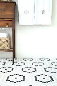 octagonal bathroom tile white hexagon tile bathroom black and white hexagon bathroom tile ideas and pictures