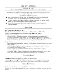 Entry Level Resume Template Free Mechanical Engineering Fresher Resume Format Free Download Templates