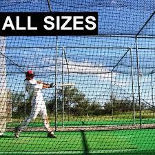 Batting Cage Nets For Baseball Practice   Net World
