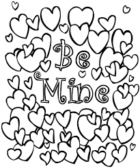 Small Picture Free Printable Valentine Coloring Pages akmame