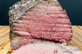 garlic herb beef top round roast don