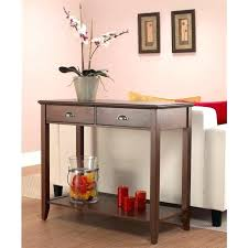 sofa table with storage baskets. Console Table Behind Couch Narrow Storage Baskets Wood With Drawers Sofa T