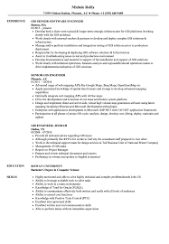 Gis Engineer Resume Samples Velvet Jobs