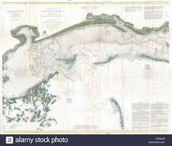 Coast Chart No 92 Mississippi Sound Western Part From Round