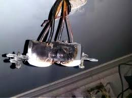 mississauga homeowner was experiencing flickering lights in this aluminum wired home
