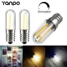 E14 Led Light Bulb Details About Dimmable E14 Led Refrigerator Freezer Filament Light Bulb Oven Lamp 1w 3w 220v