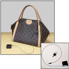 handbag security retractor with loop lock