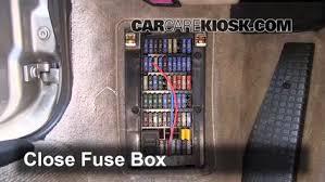 interior fuse box location 1998 2005 porsche 911 2000 porsche interior fuse box location 1998 2005 porsche 911 2000 porsche 911 carrera 4 3 4l 6 cyl convertible