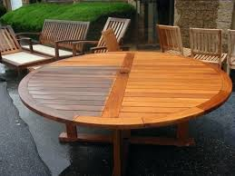 good teak patio table for image of round table teak outdoor furniture 24 teak patio furniture