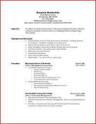 Unique Accountant Cv Objective Wing Scuisine