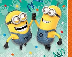 Despicable Me Minions Lunch Napkins [16ct] Minion Birthday Party Tableware  Table Supplies Supply