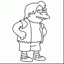 Simpsons Coloring Pages Gerrydraaisma