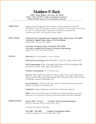 7 Resume Platform Skills Based Resume