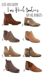 cottonstem com best low heel flat booties comfortable fall fashion